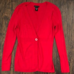 New York Company red sweater